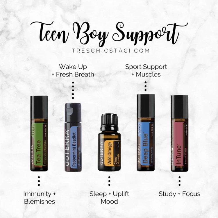 Teen Boy Oils